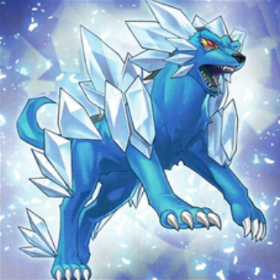 Bestia Glacial Lobo de la Tormenta de Nieve