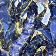 Foto coloso dragón de trueno