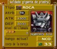 Soldado Gigante de Piedra Duelists of the Roses