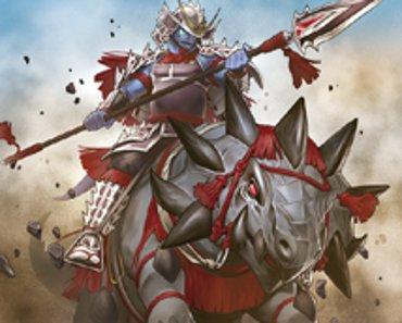 Caballería Samurai de Reptier