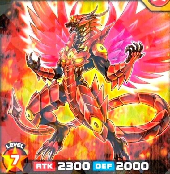 Dragón Volcán de Ataque