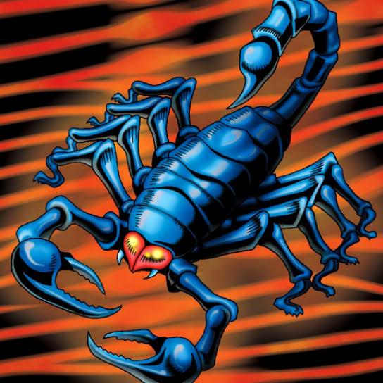 Escorpión de Acero