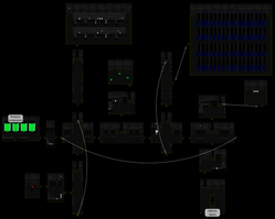Clandestine research laboratory map