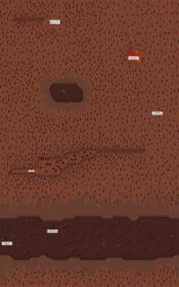 Scorched wasteland map