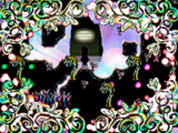 Rainbow Silhouette World