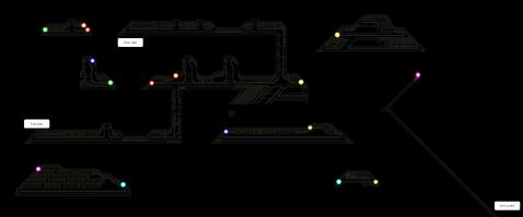 Subterranean plant map