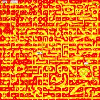 Omurice labyrinth map