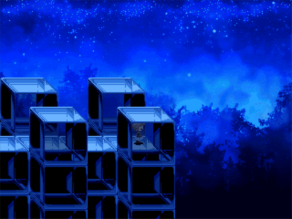 Wooden polycube ruins night.png