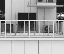 Manga balcony