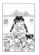Manga snow world