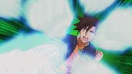 Anime Episode 3 Kogarashi Spirit Rapid Punch