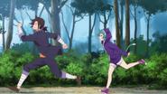 Anime Episode 4 Yaya follows Kogarashi