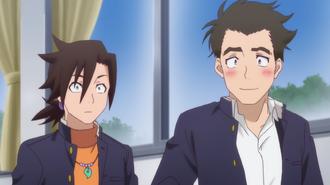 Anime Episode 3 Kogarashi First Classmate