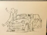 Tadashi Hiramatsu's Yurio and Grandpa deal with Yuri's Angels