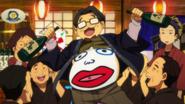 Toshiya's in a good mood