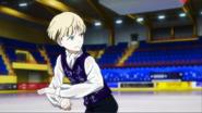 Young yurio skating EP2