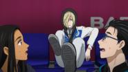 Yuri's watching performances