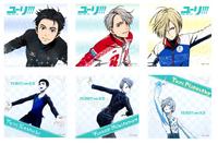 Main Characters Yuri on Ice