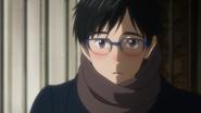 Yuri Katsuki is blushing