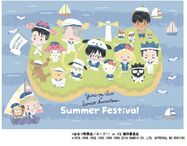 Yuri!!! on ICE x Sanrio Characters in KIDDY LAND Summer Festival