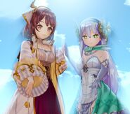 Atelier Lydie and Suelle- Sophie and Plachta