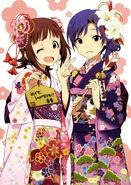 Haruka Chihaya Kimono