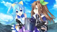 IF and Segami on bike (Neptune)