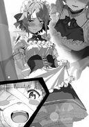 Flum Dressed as Maid