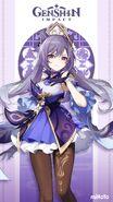 Character Keqing Card