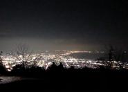 Fujikawa nighttime from Nodayama Park