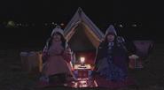 3 Nadeshiko and Rin eating
