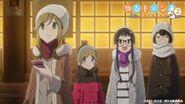 Yurucamp anime-S2ep2-aoi akari chiaki toba-sensei-7jan2021