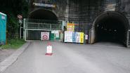 Narada roadblocked tunnel