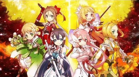 NC 1080p YuYuYu Yuusha no Shou Opening Hanakotoba Flower Language
