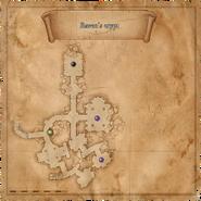Havranova krypta - Mapa2