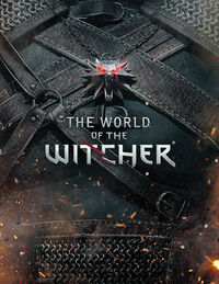 The World of The Witcher book