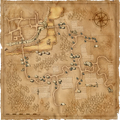 Mapa Podhradi barghesti