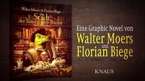 """Trailer zu Walter Moers - """"Die Stadt der träumenden Bücher"""" - Comic"""