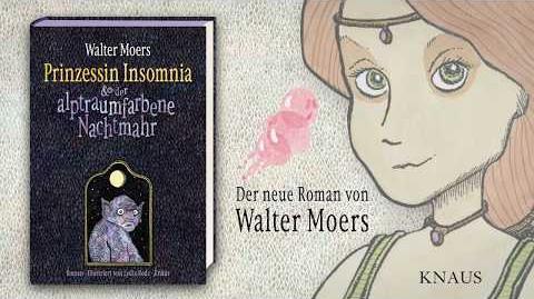 Trailer zu Walter Moers - Prinzessin Insomnia - Anagramme - Knaus Verlag