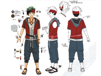 Zanki Zero Art Book - Ryo Mikajime - Design Profile (Adult).png