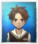 Zanki Zero Last Beginning ID Image Mamoru Ichiyo (Child)
