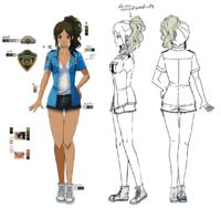 Zanki Zero Art Book - Minamo Setouchi - Design Profile (Adult).png