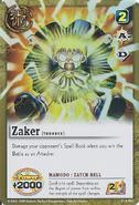 S-002 - Zaker -Zatch Bell-