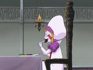 Zofis eats kotletku