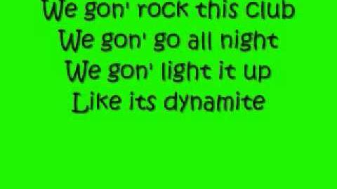 """""""Dynamite"""" by Taio Cruz"""
