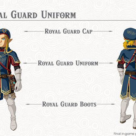 Royal Guard Uniform Zeldapedia Fandom