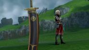 Hyrule Warriors Giant Blade Giant's Knife (Victory Cutscene)