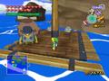 Comerciante ambulante islas del pez volador