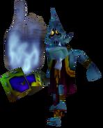 Majora's Mask Mini-Boss Wizrobe (Render)