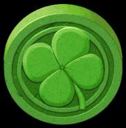 Artwork Piedra de la Suerte verde